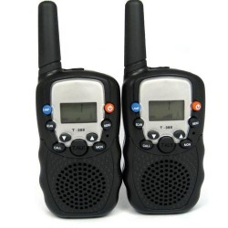 2 x New Auto Multi-Channels 5KM 2-Way Radios Walkie Talkie with Torch Light