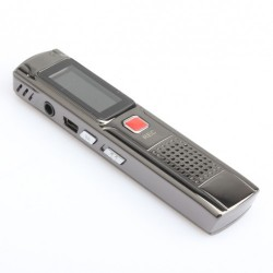 USB Digital Voice Recorder with MP3 Function Silver