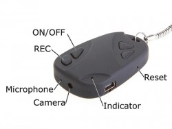 Key Holder Digital Video Recorder