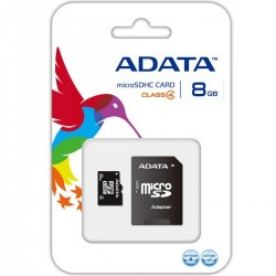 ADATA 8GB memory card  + SD Adapter Free