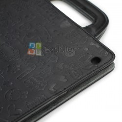 Leather Postcard Pouchi for iPad2 iPad3 iPad4