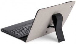 2-in-1 IPEVO Typi Folio Case and Wireless Keyboard for iPad2/3/4 Grey