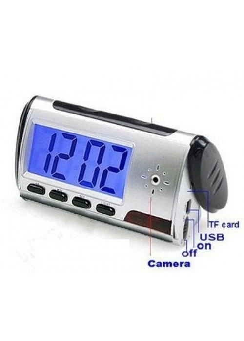 Digital Spy Table Clock 12Hrs Rec  [aka oga don commot]