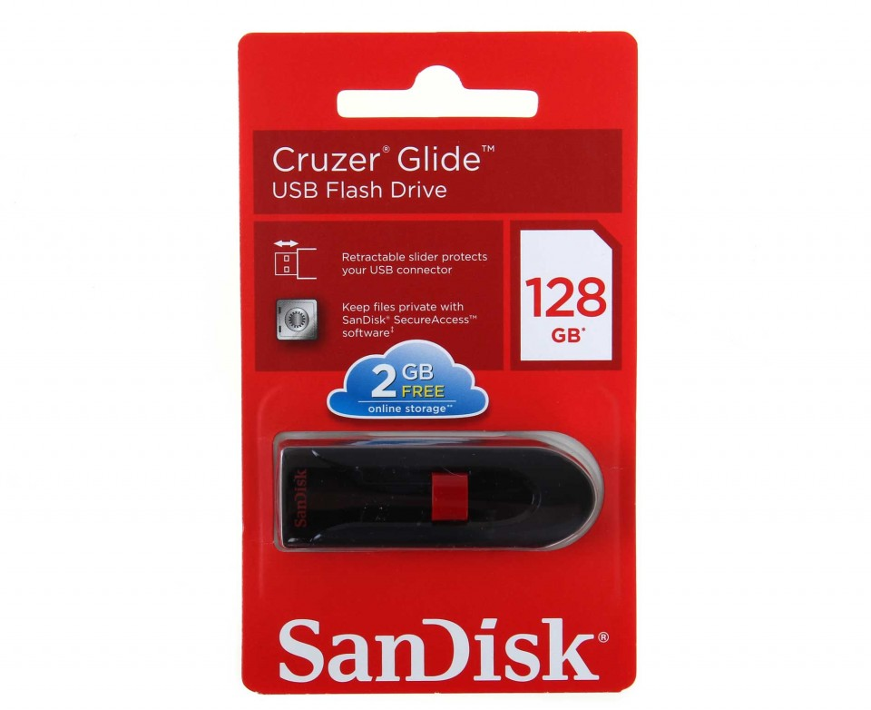how to use a sandisk cruzer glide usb flash drive