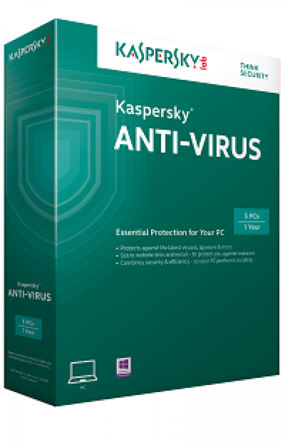 Kaspersky Antivirus Single User (2015 Version)
