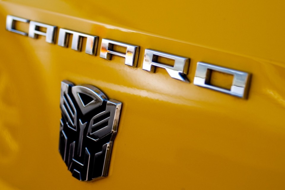 Transformers 3d Chrome Badge For Cars