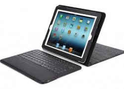 2-in-1 IPEVO Typi Folio Case and Wireless Keyboard for iPad2/3/4 Black
