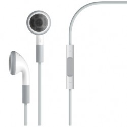 Apple iPad iPod and iPhone Earphones with Remote and Mic