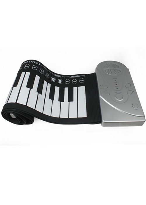Portable Soft Roll Up Midi Electronic Keyboard Piano