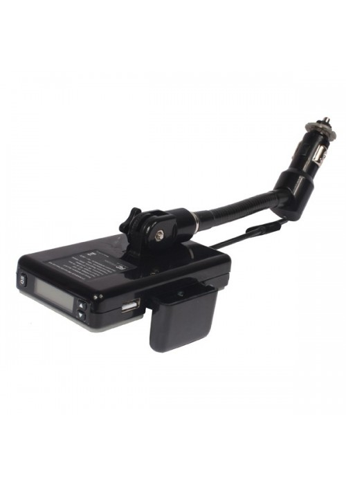 All in One Magic Universal Car kit [with USB flash + memory card player]