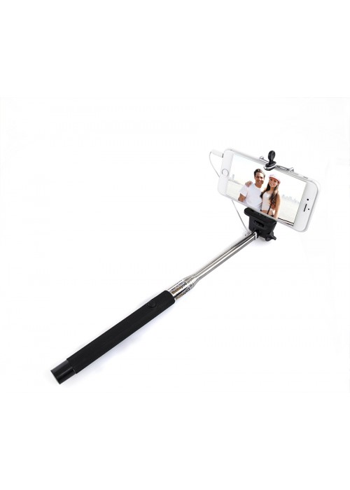 Universal Plug and Play Selfie Stick - Cable Control