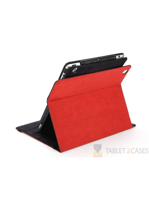 2-in-1 IPEVO Typi Folio Case and Wireless Keyboard for iPad2/3/4 Red