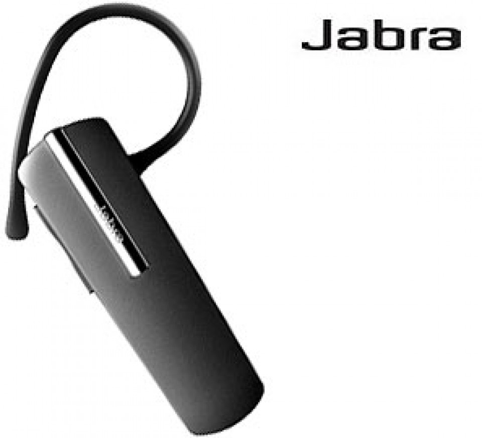 Jabra Bluetooth Headset Universal For All Smartphones Pairs Two Phones